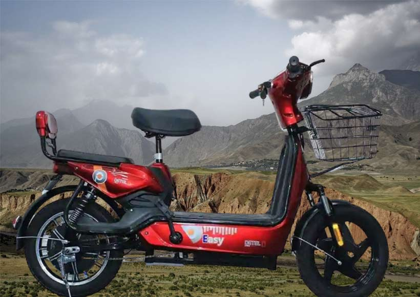 detel easy इलेक्ट्रिक बाइक